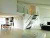 Zwevende trappen of vrijdragende rechte designtrap - (ZT01-A)