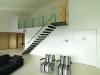 Zwevende trappen of vrijdragende rechte designtrap - ZT01-B