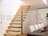 Zwevende trappen of vrijdragende rechte designtrap - ZT02-A