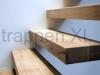 Zwevende trappen of vrijdragende rechte designtrap - ZT02-B
