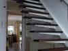 Zwevende trappen of vrijdragende rechte designtrap - ZT03-A