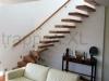 Zwevende trappen of vrijdragende rechte designtrap - ZT04-B