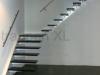 Zwevende trappen of vrijdragende rechte designtrap - ZT05-A