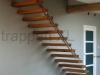 Zwevende trappen of vrijdragende rechte designtrap - ZT06-C