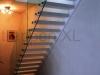 Zwevende trappen of vrijdragende rechte designtrap - ZT09-A