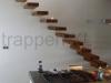 Zwevende trappen of vrijdragende rechte designtrap - ZT10-A
