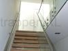 Zwevende trappen of vrijdragende rechte designtrap - ZT11-B