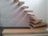 Zwevende trappen of vrijdragende rechte designtrap - ZT12-A