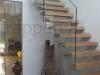 Zwevende trappen of vrijdragende rechte designtrap - ZT12-B