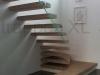 Zwevende trappen of vrijdragende rechte designtrap - ZT12-E