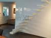 Zwevende trappen of vrijdragende rechte designtrap - ZT13-C