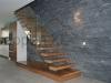 Zwevende trappen of vrijdragende rechte designtrap - ZT14-B