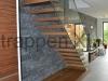 Zwevende trappen of vrijdragende rechte designtrap - ZT14-C