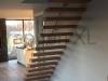 Zwevende trappen of vrijdragende rechte designtrap - ZT15- B
