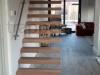 Zwevende trappen of vrijdragende rechte designtrap - ZT15- C