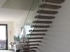 Zwevende trappen of vrijdragende rechte designtrap - ZT16- B
