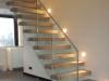 Zwevende trappen of vrijdragende rechte designtrap - ZT17- A