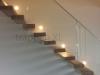 Zwevende trappen of vrijdragende rechte designtrap - ZT17- B