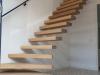 Zwevende trappen of vrijdragende rechte designtrap - ZT18- A