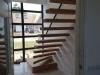 Zwevende trappen of vrijdragende rechte designtrap - ZT18- B