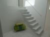 Zwevende trappen of vrijdragende rechte designtrap - ZT19- B