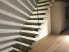 Zwevende trappen of vrijdragende rechte designtrap - ZT20- A