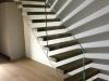 Zwevende trappen of vrijdragende rechte designtrap - ZT20- B