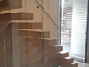 Zwevende trappen of vrijdragende rechte designtrap - ZT21- C