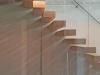 Zwevende trappen of vrijdragende rechte designtrap - ZT21- D