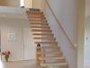 Zwevende trappen of vrijdragende rechte designtrap - ZT22- B