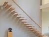 Zwevende trappen of vrijdragende rechte designtrap - ZT22- C