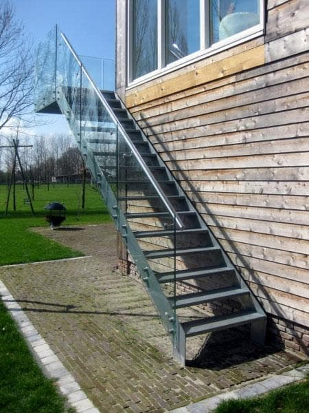 alles over de buitentrap design trappen op maat trappenxl