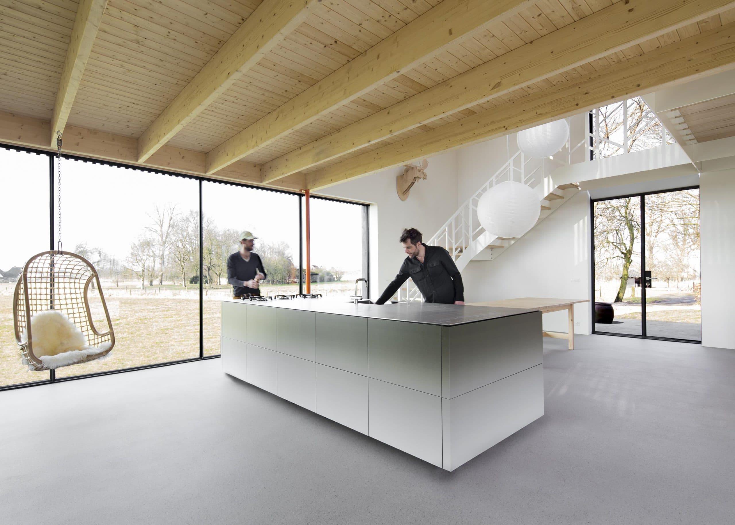 designtrap woonkamer