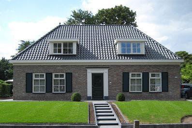 Landelijke woningen voorbeelden good uitbreiding woning for Moderne laagbouw woningen