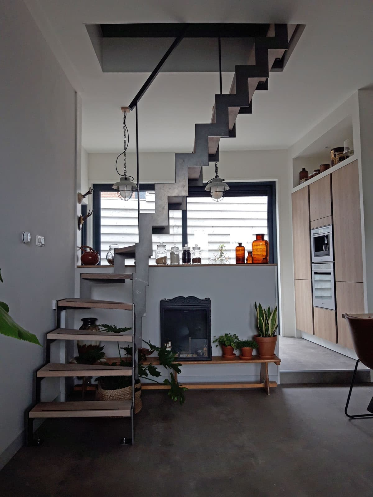 mut40a muizeboomtrap met onderkwart woonkamer