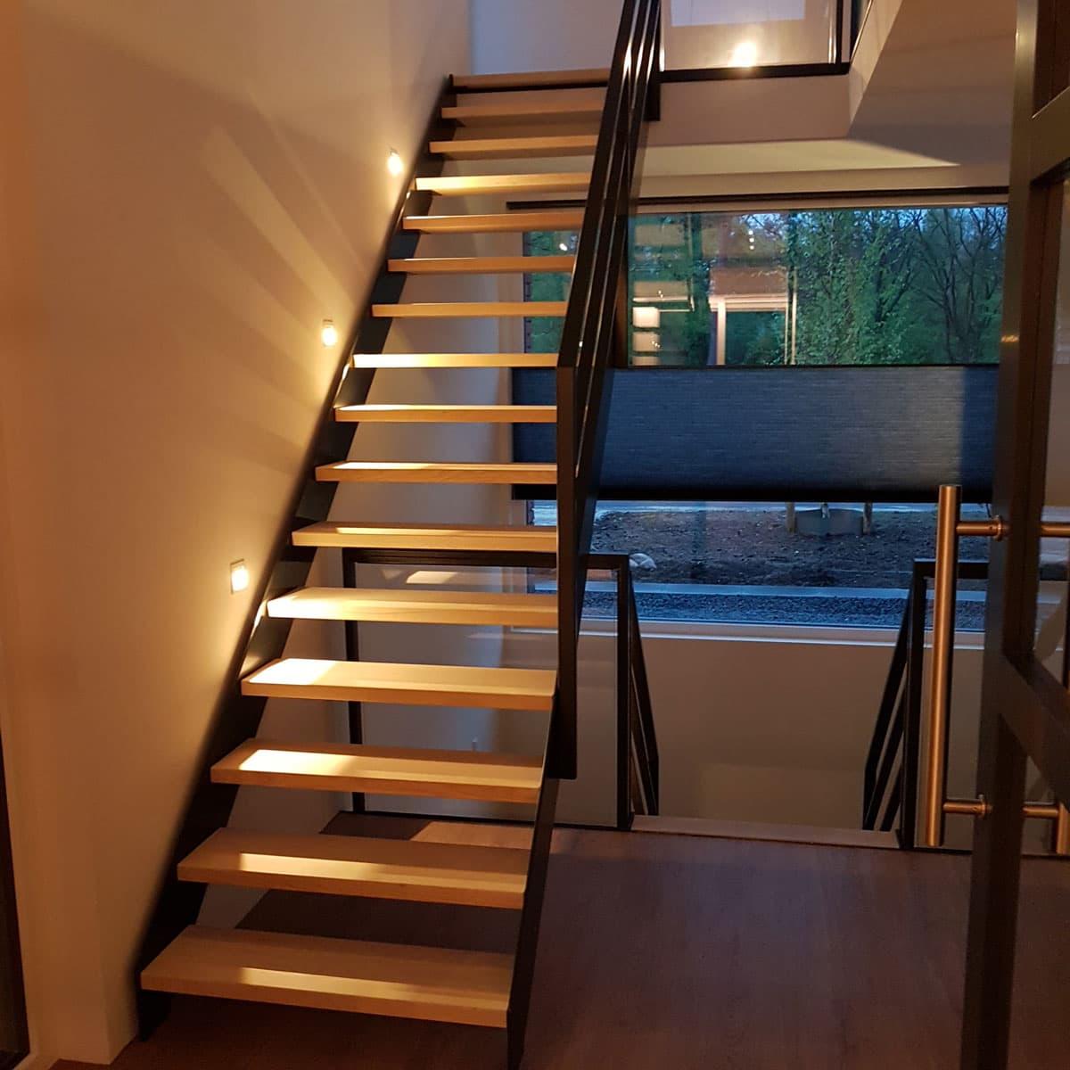 rt58a rechte trap verlichting